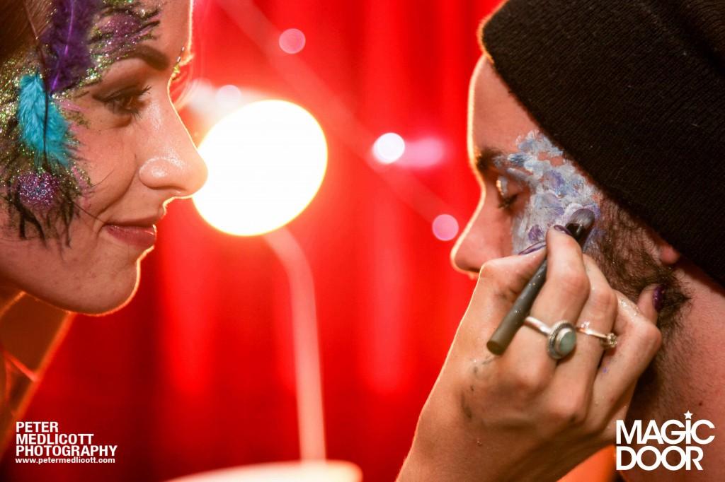 Face Painting Magic-Door-Club-Photography-Birmingham-Peter-Medlicott-Night-Club-face-painte
