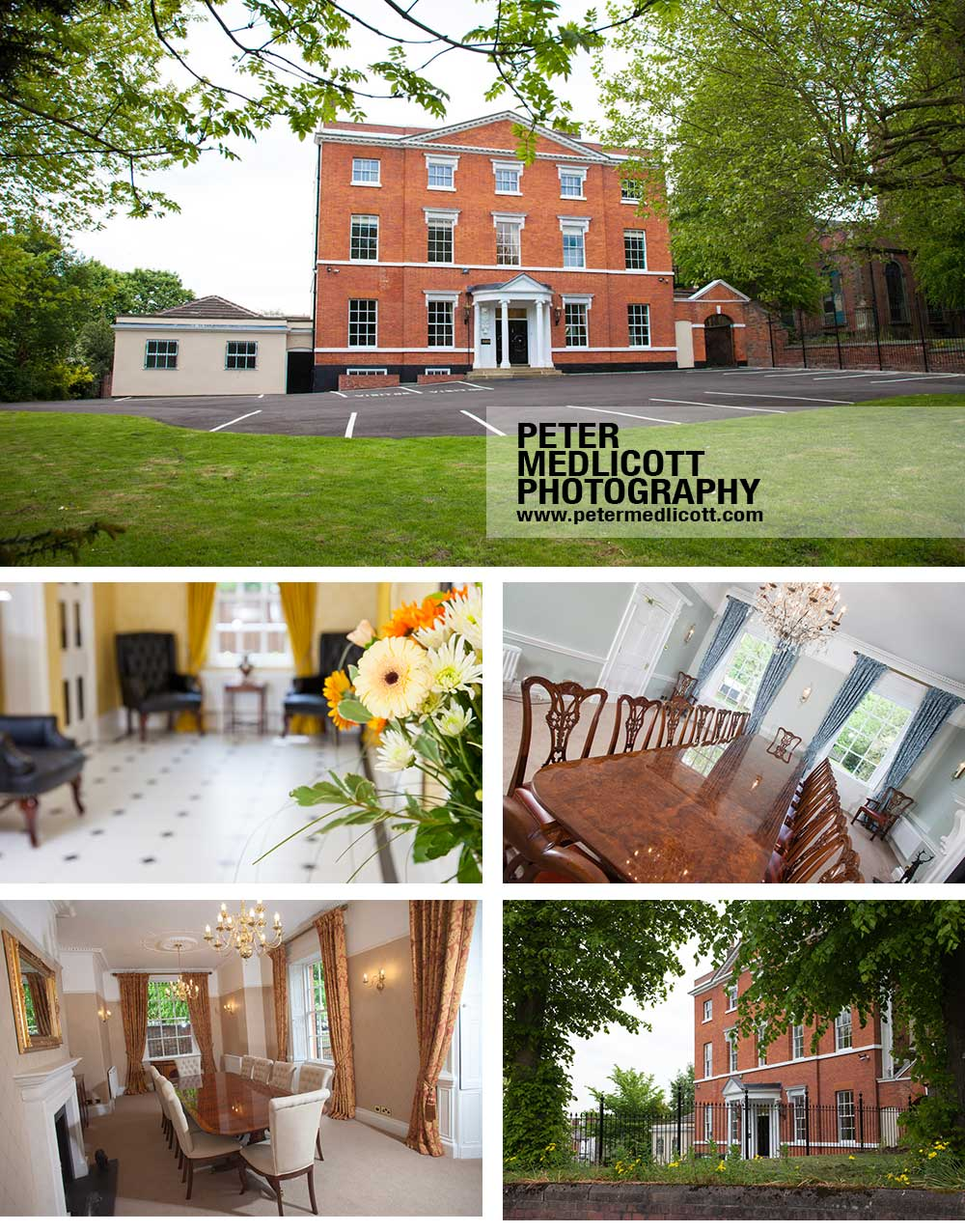 Commercial Property Photographer West Midlands King Charles House Dudley