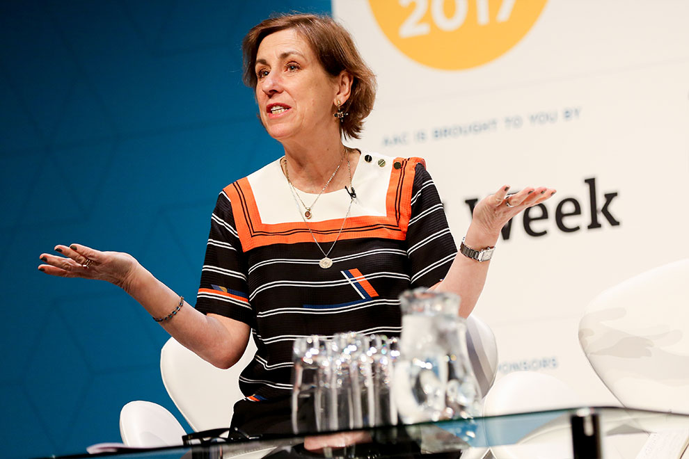 Kirsty Wark Corporate event photographer Birmingham