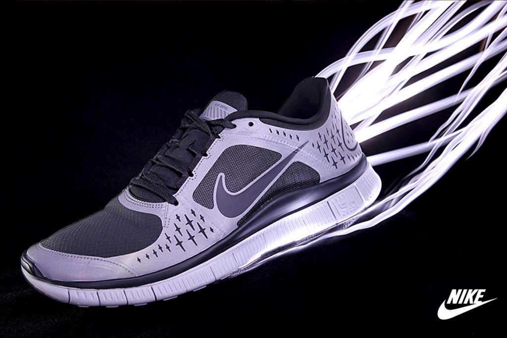 Product Photography for Nike by Commercial and advertising Photographer in Birmingham and London by Peter Medlicott Photography