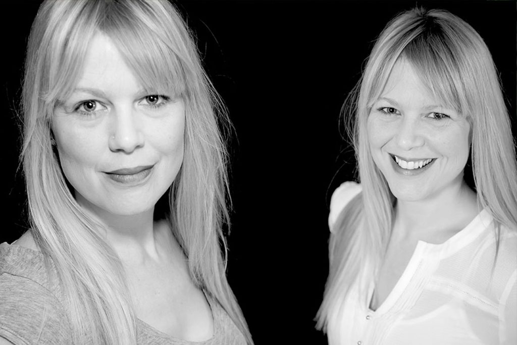 Headshot of an actress Birmingham by Photographer Peter Medlicott