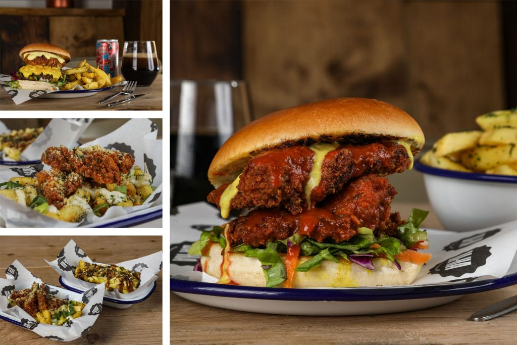 Picture of Food Photographer in Birmingham by Peter Medlicott, Vegan Burger photography